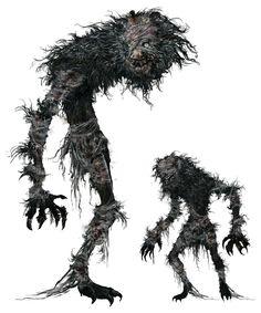 Beast Patient from Bloodborne