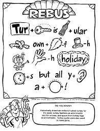thanksgiving riddles coloring pages | Episode 115: rebus puzzle | I.B. Smart | Rebus puzzles ...