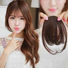 Buy Pin Show Hair Fringe at YesStyle.com! Quality products at remarkable prices. FREE WORLDWIDE SHIPPING on orders over AU$50.