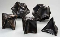 Collapsed Platonic Solids