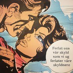 """Aftenbønn (II)"" / akryl og blekk på lerret / 100x100cm"