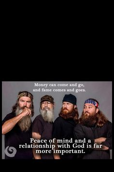 Duck Dynasty...every Wednesday...one of my favourite shows lol