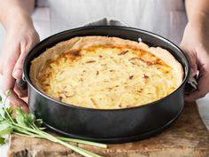 So machst du klassischen Zwiebelkuchen selber