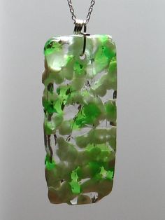 Melted Bead Pendant