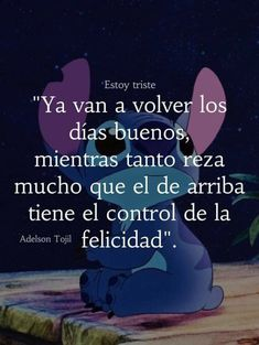Stitch, Movie Posters, Movies, Frases, Happiness, Sad, Full Stop, Film Poster, Films