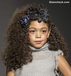 black childen models | Kids Hairstyle DIY: Sugar & Spice Girls' Curly Hairdos