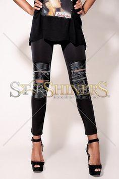 Pantaloni Ocassion Rebel Black