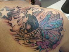 Fairy back tattoo   # Pinterest++ for iPad #