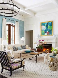 South Shore Decorating Blog: Lovely New Rooms: Bedrooms, Living Rooms, and Dining Rooms