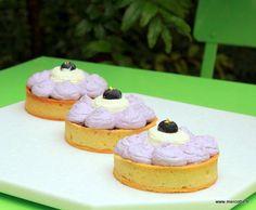Tartelettes myrtille cassis de la pâtisserie de Cyril Lignac