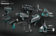 Panasonic Elisa on Behance by Pascal Ruelle