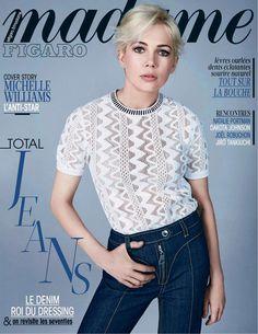 Madame Figaro du 30 et 31 janvier 2015 avec Michelle Williams en couverture