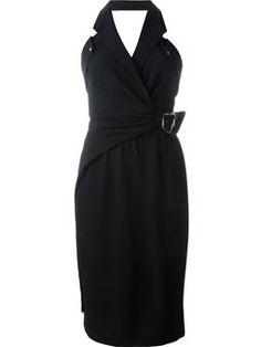buckled wrap dress  $1,041 #Farfetch #prett #ShoppingSale