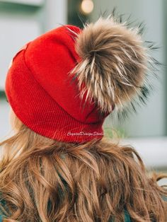 facc64f3eee Red Wool hat for women Winter angora hat Knitted Black White Pink Beige  Warm Wool hat Autumn clothes Gift for her