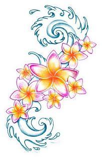 Plumeria Tattoo: Plumeria Tattoo Designs 2