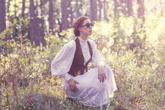 Anne of Green Gable inspiration with Zero UV sunnies. Anne Of Green Gables, Sunnies, Zero, Tulle, Inspiration, Fashion, Biblical Inspiration, Moda, Sunglasses