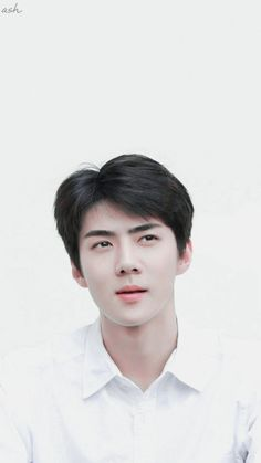 Men 's short full wig wigs real natural human hair,easy to style Kpop Exo, Sehun, Google Image Search, Quality Memes, Of Wallpaper, Aesthetic Photo, Im In Love, Hair Pieces, Pretty Boys
