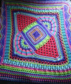 ADD Blanket by Brandi Isham | Crocheting Pattern - Looking for your next project? You're going to love ADD Blanket by designer Brandi Isham. - via @Craftsy