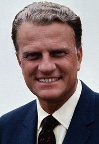 Billy Graham …