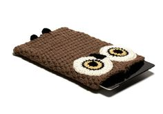 Owl crocheted ipod case #crochet_inspiration