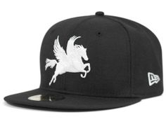 Black Pegasus 59Fifty Fitted Cap by NEW ERA