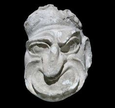 Made of plaster, the rather heavy masks were unearthed in 1749 in Pompeii during…