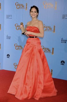 Beverly Hilton, The Beverly, Jennifer Lawrence Pics, Strapless Dress Formal, Formal Dresses, Awards, Hollywood, Hot, Pictures