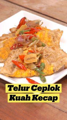 Vegetarian Recipes, Cooking Recipes, Healthy Recipes, Indonesian Food, Low Calorie Recipes, Food Menu, Diy Food, Asian Recipes, Food Inspiration