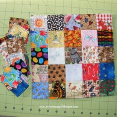 Eye Spy Patchwork Memory Game by Benita Skinner from Victoriana Quilt Designs