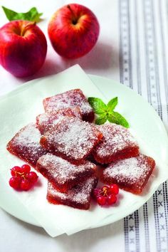Apple Recipes, Sweet Recipes, No Cook Desserts, Dessert Recipes, Fruit Soup, Veggie Chips, Homemade Sweets, Jam And Jelly, Vegan Kitchen