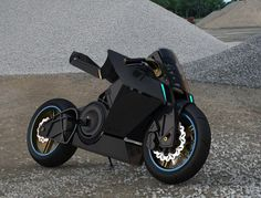 Shavit Electric Motorcycle Concept