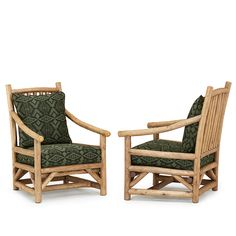 Rustic club chairs and ottomans by La Lune Collection are designer quality, hand-crafted furniture made in the USA. Rustic Chair, Rustic Wood, Rustic Bedroom Furniture Sets, Wood Fireplace Mantel, Rustic Nursery, Chair And Ottoman, Club Chairs, Furniture Making, Outdoor Chairs