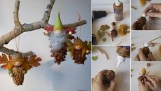 Pinecone Fairy Ornament Tutorial