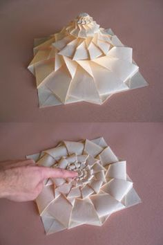 Origami Maniacs Flower Tower By Chris Palmer 48 Minute Tutorial Looks Incredibly Difficult