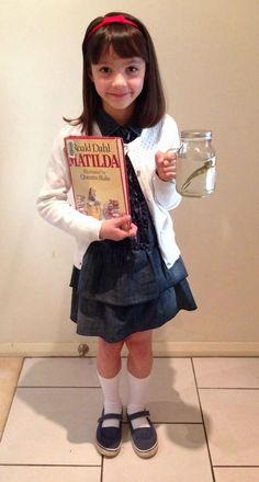 World Book Day Costume Ideas for Kids - Matilda                                                                                                                                                                                 More #halloweencostumekids