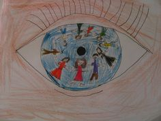 Magritte Eyes - Art Projects for Kids