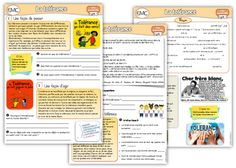 EMC : la tolérance School Organisation, Teacher Organization, Emc Cycle 3, Cycle 2, Ap French, French Teacher, New Program, Home Activities, Social Skills