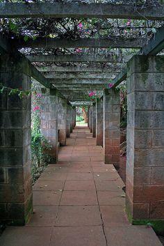 the gardens at karen von blixen's home