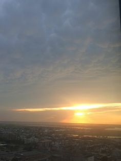 At TROPICANA Hotel Casino Gorgeous Sunset over the Bay👍🏼☺️