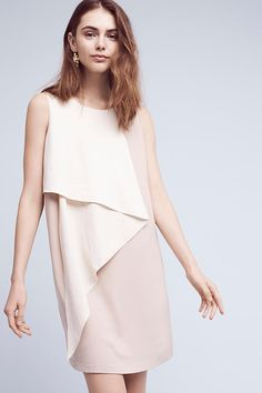 Cascading Colorblock Dress