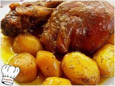 Pork Dishes, Tasty Dishes, Cyprus Food, No Cook Appetizers, Greek Recipes, Food To Make, Food Processor Recipes, Dinner Recipes, Food And Drink