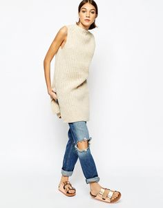 Image 4 ofGanni Tabard Jumper Dress