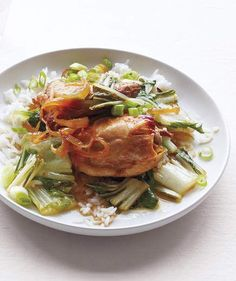 Slow-Cooker Soy-Braised Chicken | RealSimple.com