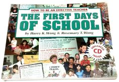 The First Days of School How to Be an Effective Teacher Harry & Rosemary Wong #Textbook