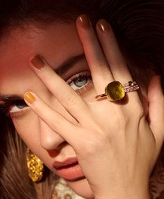 Barbara Palvin | Glam Jewelry Editorial | Vogue Portugal Cover