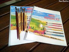 Toka da Arte Atelier: Livro de Colorir da Condor - Mandalas - Dica preci...