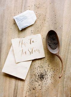 How to Tea Stain Paper