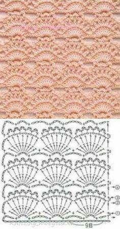 Watch This Video Beauteous Finished Make Crochet Look Like Knitting (the Waistcoat Stitch) Ideas. Amazing Make Crochet Look Like Knitting (the Waistcoat Stitch) Ideas. Crochet Motifs, Crochet Borders, Crochet Stitches Patterns, Crochet Chart, Love Crochet, Filet Crochet, Crochet Designs, Crochet Lace, Stitch Patterns