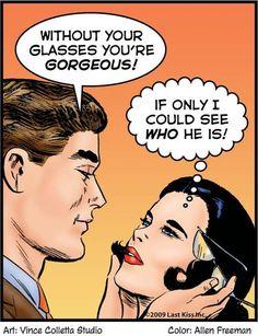Girls in glasses... Lol