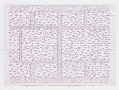 LEÓN FERRARI (ARGENTINE, BORN 1920) Passarelas from Heliografias (traffic grid)